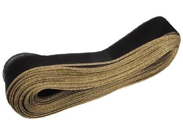 Krynolina brokatowa 76mm - black-gold