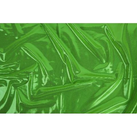 DISCO FOILED LYCRA green metallic-spring