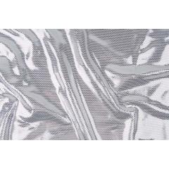 DISCO FOILED LYCRA silver-metallic silver
