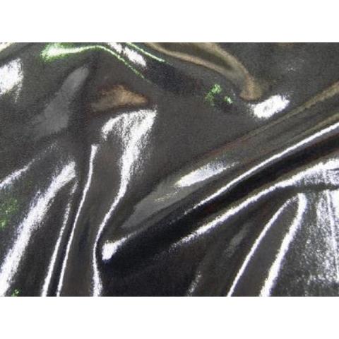 METALLIC DOT LYCRA silver on grey