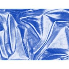 METALLIC DOT LYCRA ocean blue on blue
