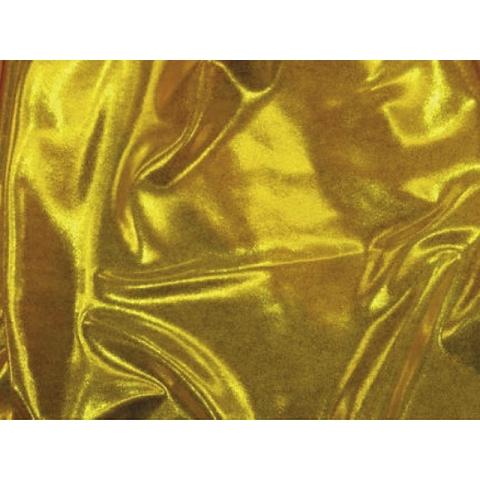 METALLIC DOT LYCRA gold-yellow