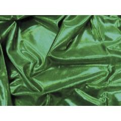 METALLIC DOT LYCRA emerald on green