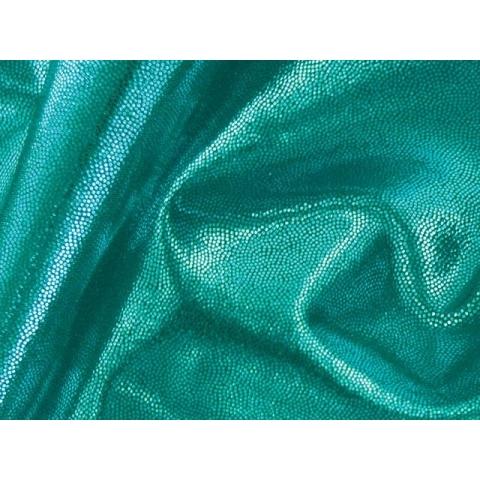 METALLIC DOT LYCRA jade on jade