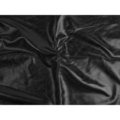 METALLIC FOILED LYCRA black