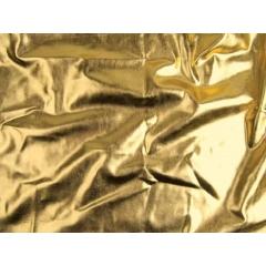 METALLIC FOILED LYCRA gold