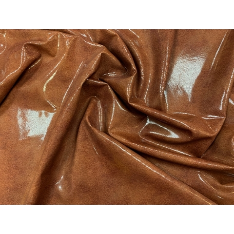 GLOSS LEATHER LYCRA antique brown