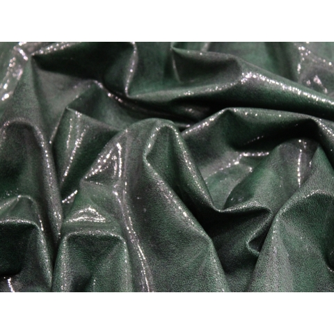 GLOSS LEATHER LYCRA antique green