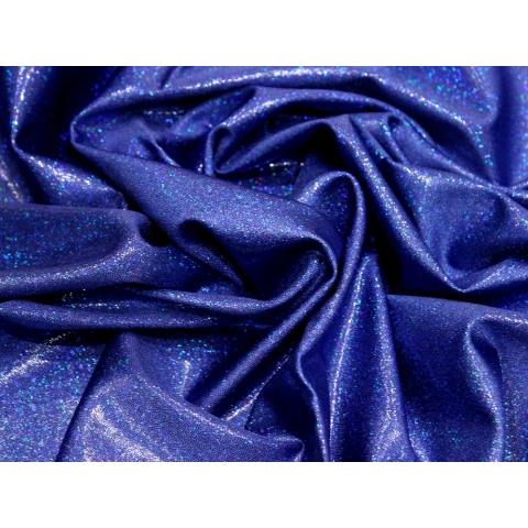 LYCRA HOLOGRAM blue on blue