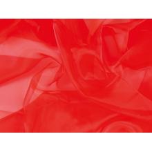 organza CHR-C/HOT RED