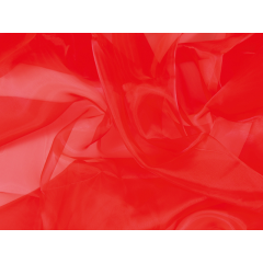 organza CHR-C/HOT RED