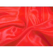 satin chiffon CHR-C/HOT RED
