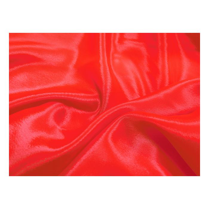 satin chiffon CHR-C/HOT RED