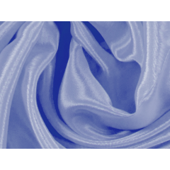 satin chiffon CHR-C/BLUEBELL