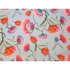 Tulip print on georgette