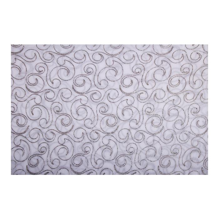 Cleopatra Mesh (siatka) - silver-white
