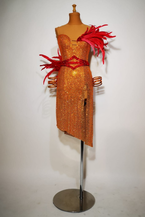 Sukienka do tańca MJD3007